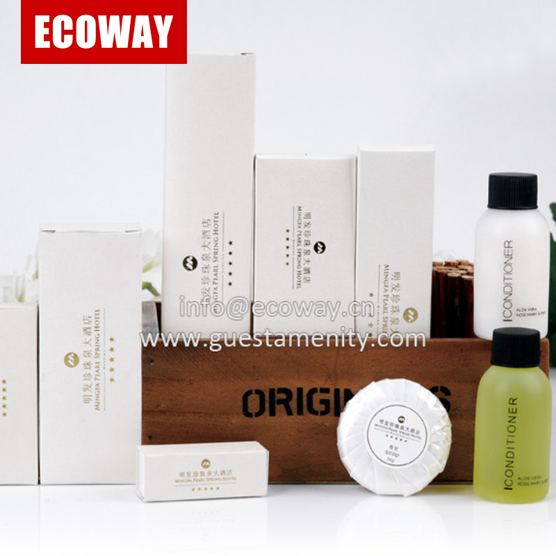 new design hotel toiletries product hotel guest room amenities