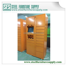 all steel colorful logistic locker, logistic parcel delivery locker with multi--doors, multiple functions steel post locker