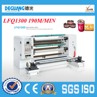 sale automatic plastic film slitting and rewinding machine