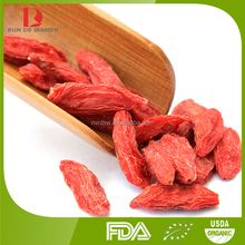 2015 Top quality Chinese organic goji berries/wolfberry