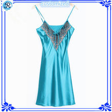 Custom ladies sexy night sleeping dress factory wholesale