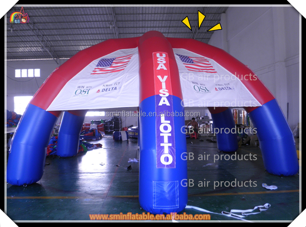 Fashion advertsiing inflatable carport garage , inflatable car garage tent for sale