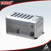 Hotel Stainless Steel Electric Glass Toaster/1 Slice Toaster/Egg Roll Toaster