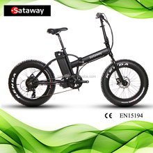Sataway Most popular ebikes fat tire electric bike for Adult