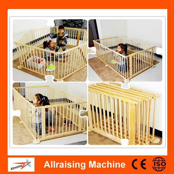Baby Safety Care Folding Wooden Fence