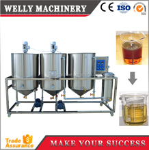 Factory price small scale palm oil refining machinery for sale