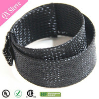 Pet braided Black auto cable sleeving