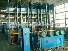 Steel Cord Conveyor Belt Vulcanizing Machine / Rubber Making Machine