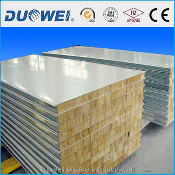 rock wool sandwich panel