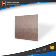 Bronze no.4 stainless steel elevator decorative sheet panel