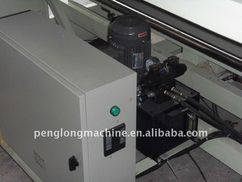 Tubular knitted fabric inspection winding and opening machine/ fabric winding machine for textile