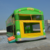 inflatable bouncer jungle bus with slide A3033