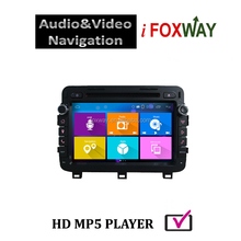 Android 4.4 2 USB port touch screen car dvd gps for k5 optima