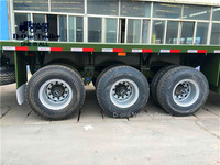 cheap value 40ft 12 tires loading container flatbed trailer,value ATV 40ft 12 tires loading container flatbed trailer