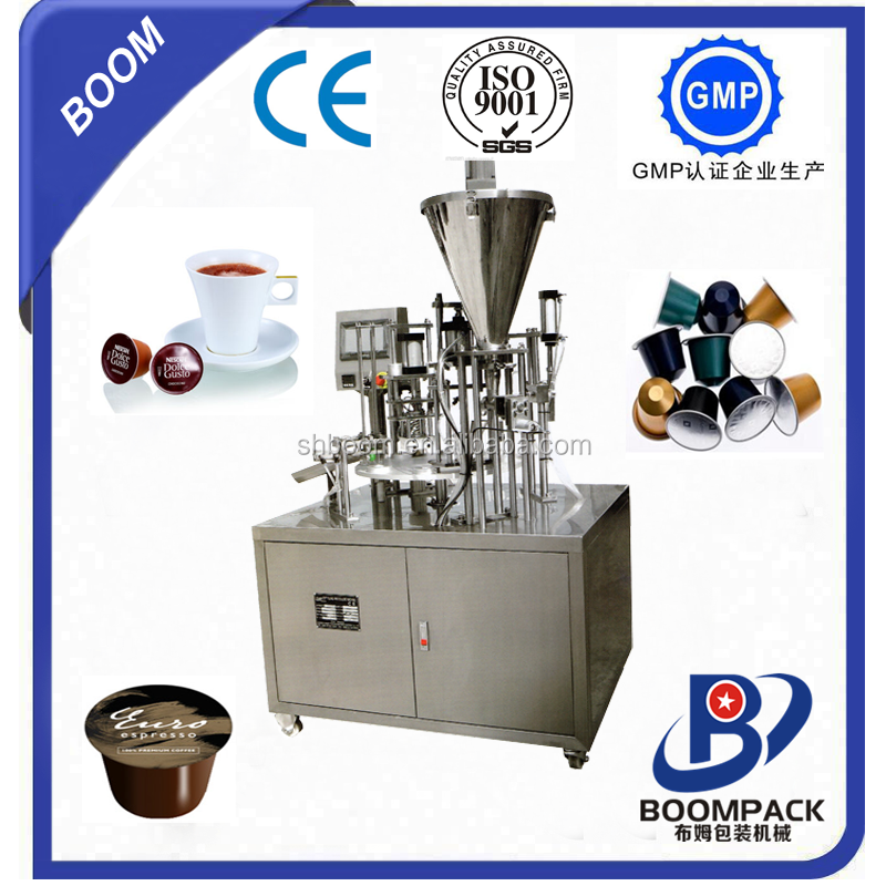 nescafe coffee capsule filling machine/nescafe filling machine
