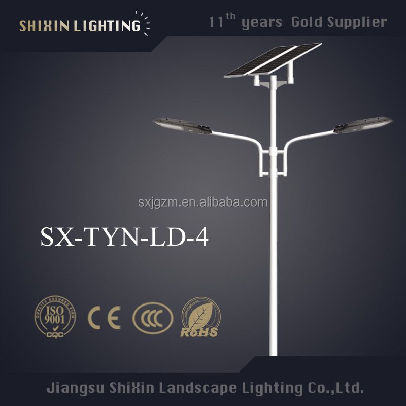 42w solar street lights led lam and led home light garden