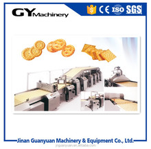 China snack food professional good quality ce full soft and hard small mini biscuit making machine