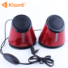 2017 Wired Usb 2.0 Speaker,laptop mini bass speakers portable speakers/sound