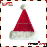 Wholesale High Quality Decoration Santa Hat Christmas Hat Xmas Hat