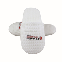 Foam Waffle Hotel Bedroom Slippers China Slipper with Cheap Price