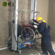 Building equipment portable wall rendering plastering machine price