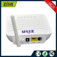 DSL+4FE+USB+ 2*2 WIFI(300M 11N) adsl2 modem router for indoor equipment