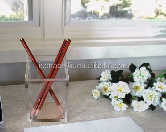plastic Clear pen display stand