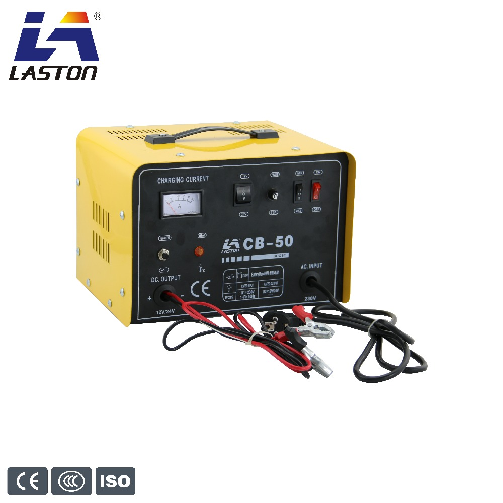 Portable 12/24V automatic battery charger