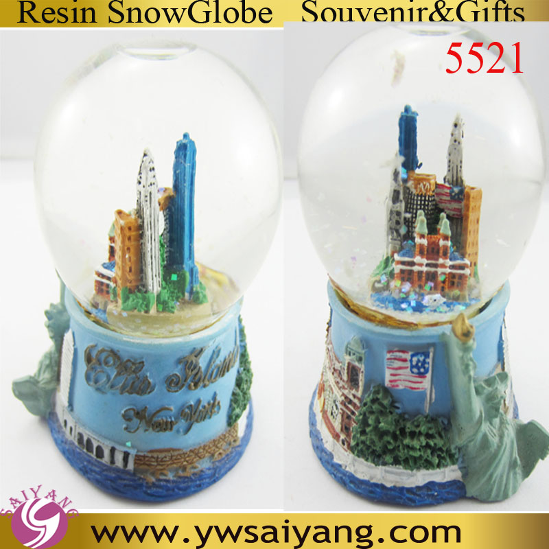 5521 New York Globe Polyresin Souvenir Cities Ball Resin Table Decor Indoor Decor Resin ball