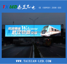 P10 or P8 DIP/SMD Outdoor Full-Color Advertising LED Display Module vedio led display