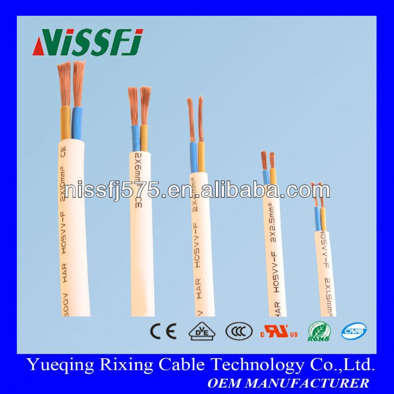 HI-FLEX cable used for house fixing and electric appliance wiring