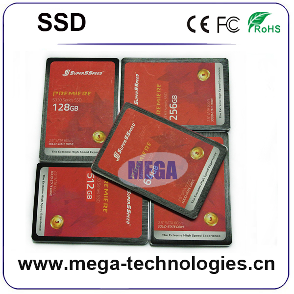Retail packing 2.5 inch mlc sata 6Gb/s 128gb sata3 ssd hard drive OEM SSD hdd