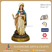 12 Inch Resin Christian Gifts Home Decoration St.Marsha Statues Religious Craft