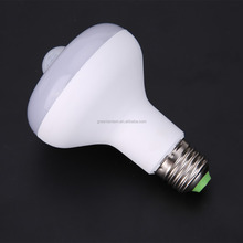 Lumiparty LED Bulb With Motion Sensor E27 9W PIR Motion Activatived Energy Saving Night Lamp Bulb Indoor lighting