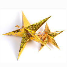 Christmas Decoration led hanging christmas design lovely christmas decoration Paper star