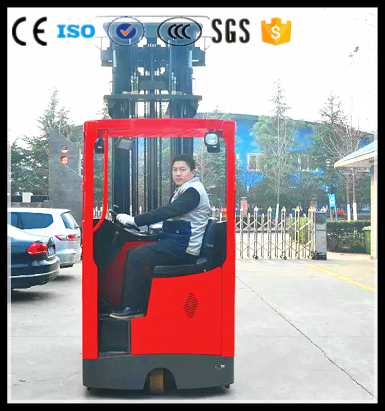 Wholesale product high lift reach truck seat type 2 ton electric reach truck