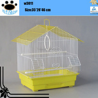 2016 high quality small decorative cheap standing bird cage for sale