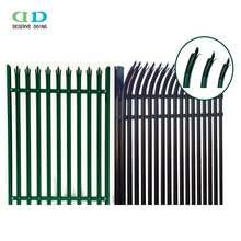 Quality Galvanised & Powder coated Steel Palisade fence from DD-Fence China