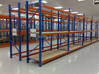 Warehouse Medium Duty Racking Storage Shelf,Long span type shelving