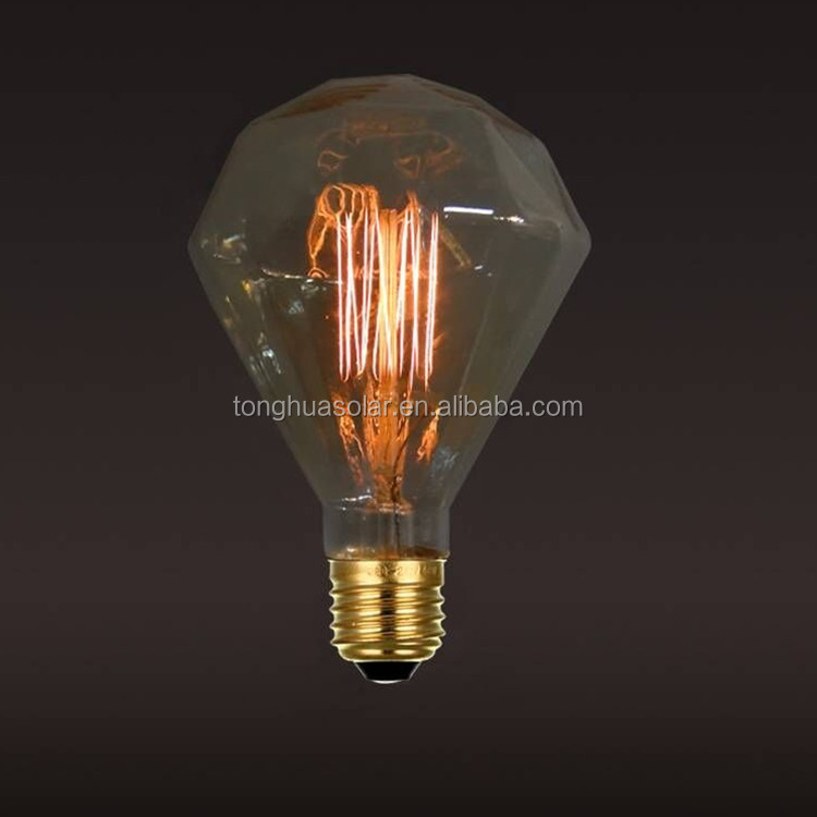 retro antique industrial style filament lamp D125