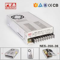 NES 350W 36V 9.7A Industrial Single Output SMPS AC DC Switching Power Supply Led Driver, Constant voltage led driver