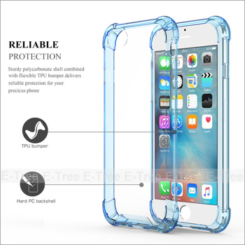 Hot selling tpu shockproof case for iphone 7, clear tpu case for iphone 7 case clear tpu shockproof