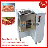 QW-6 stainless steel automatic lamb cutting chopping stripping machine