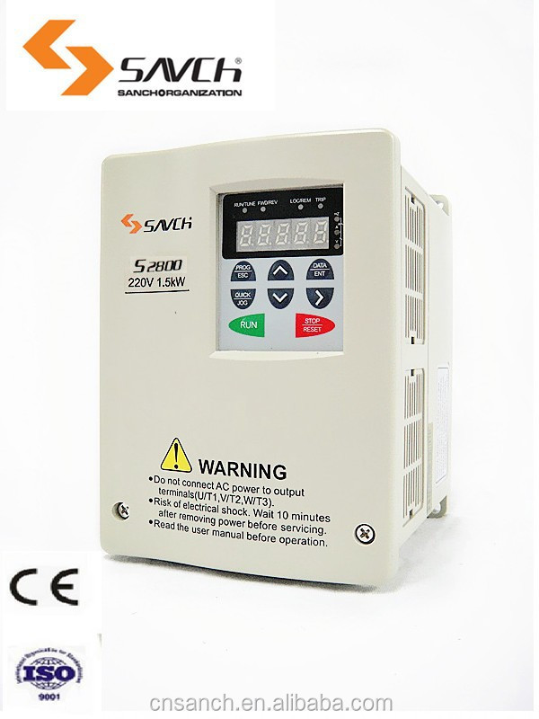 (distributors required)1.5kw 3 phase vector/torque control sensorless 220v 380v 440v ac power frequency converter 60hz 50hz