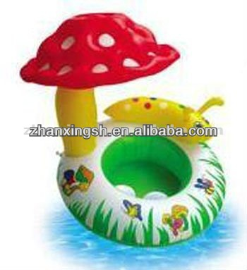 INFLATABLE TWIN FLOAT RING