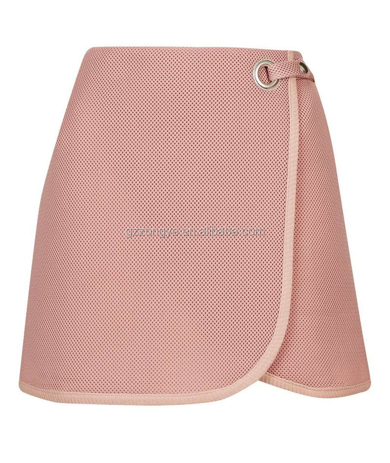 Fashion Short Lady Skirt, Women Mini Skirt and Blouse for Wholesale