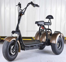 40-60km Range Per Charge two seats 3 wheels electric scooter