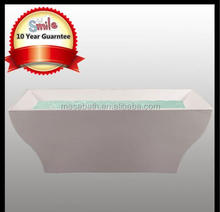 Acrylic Freestanding Rectangular Cheap Price Inflatable Portable Fiberglass Hot Bath Tubs Bathtubs for Shells