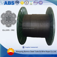 Wire Rope For Sand Line,Swabbing line K6*36WS-IWRC
