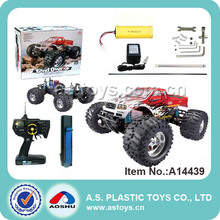1:8 high efficiency gas power super cross-country vehicle toys rc truck for sale